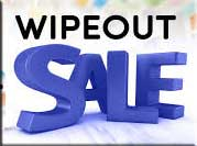 wipeout sale