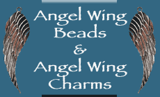 Angel Wing Beads | Angel Wing Charms