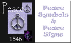 Peace Sign Jewelry | Peace Symbols