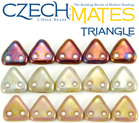 CzechMates Triangle Beads