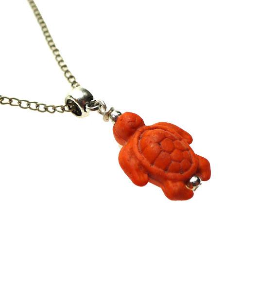 Gemstone sea turtle necklace pendant orange everyday spiritual jewelry gemstone sea turtle necklace pendant orange everyday spiritual jewelry mozeypictures Choice Image