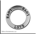 Sterling Silver Love Charms