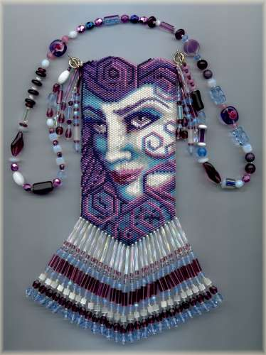 Beaded Bags Patterns Free : BEADED AMULET BAG PATTERNS Design Patterns