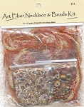 Art Fiber Necklace Kit, Autumn Spendor II