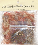 SOLD - Art Fiber Necklace Kit, Autumn Spendor