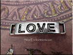Love Bracelet Connector Jewelry Finding 28x6.5mm (1)