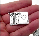 Cards Gambling Necklace, Royal Flush Pendant, Gambling Jewelry