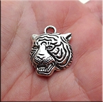 Tiger Necklace - Everyday Silver Wildcat Jewelry