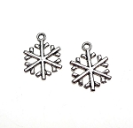 Wholesale Snowflake Charms Snow Flake Charms Bulk (15)