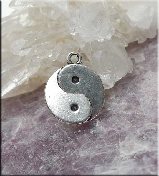 Yin-Yang Necklace - Everyday Silver Zen Yin and Yang Jewelry