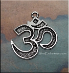 Om Necklace - Everyday Silver Meditation Jewelry