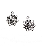 Wholesale Snowflake Charms Bulk (10)