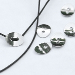 Button Clasp for Leather Wrap Bracelets, Button Clasp Findings (20)