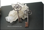 Key Pendant, Key Necklace, Skeleton Key Jewelry