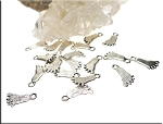 Footprint Charms Foot Print Charms Bulk Foot Charms (20)