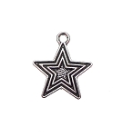 Triple Star Charm | Pentagram Jewelry