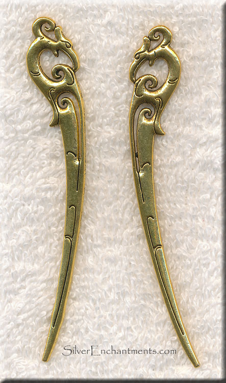 Golden Fantasy Bookmark Component