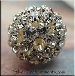 Crystal Ball Bead, 20mm