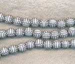 Soccer Ball Beads | Volleyball Beads Strand