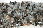 Agate Beads, Italian Agate Nugget Beads, Natural Gemstone Beads - CLEARANCE