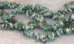 Tree Agate Beads, Tree Agate Gemstone Chips, Tree Agate Chips Long Strand