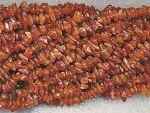 Carnelian Chips, Dark Carnelian Beads, Dark Carnelian Gemstone Chips, Long Strand