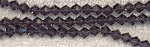 6mm Crystal Bicone Beads Strand, PURPLE