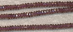 Crystal Spacer Beads, 5mm AMETHYST, 120+ Beads per Strand, CLEARANCE