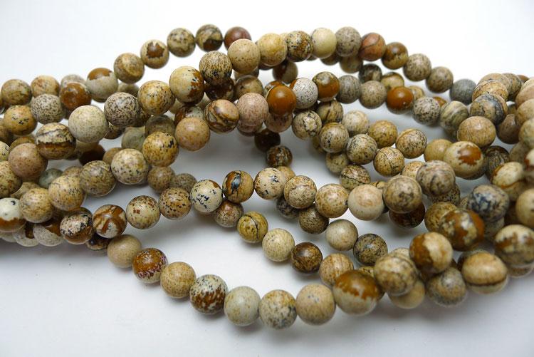 Sandstone Jasper Beads Round 6mm