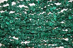 Malachite Beads 10mm Coin Beads - CLOSEOUT
