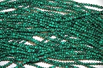 Malachite Beads 4mm Round  - CLOSEOUT