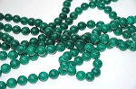 Malachite Beads, 12mm Round Malachite Beads - CLOSEOUT