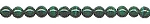 Malachite Beads, 4mm Round Natural Malachite Beads Strand