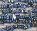 Dumortierite Beads, Chips-Nuggets