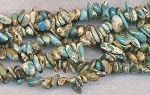 Blue Opal Turquoise Sea Sediment Jasper Chips Jasper Beads Full Strand