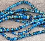 Rondelle Sea Sediment Jasper Beads