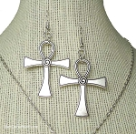 Ankh Earrings, Egyptian Jewelry