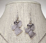 Praying Angel Earrings, Silver Angel Jewelry