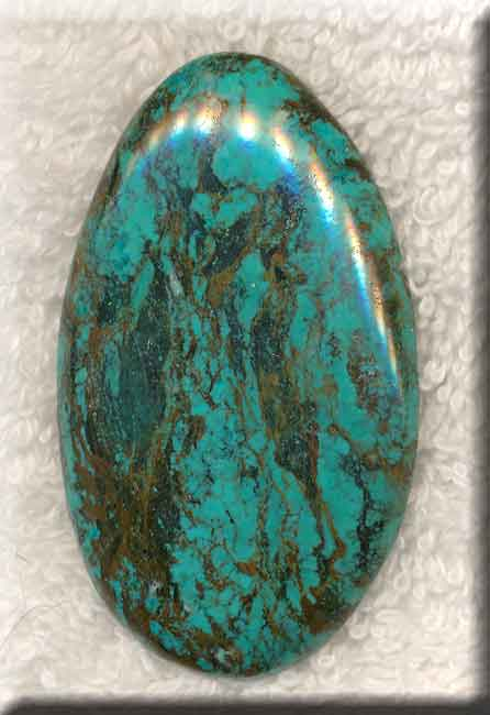Natural Turquoise Cab Freeform Turquoise Cabochon 56x33mm