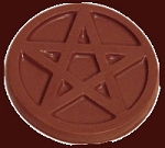 SOLDOUT - Pentacle Chocolate Mold, Pentagram Candy Mold