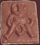 SOLDOUT - Sheila-Na-Gig Chocolate Mold, Pagan Candy Mold