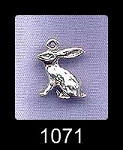 Sterling Silver Rabbit Charms