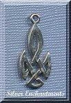 Sterling Silver Celtic Tribal Knot Charm