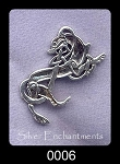 Sterling Silver Celtic Greyhound Pendant