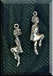 Sterling Silver Ballet and Dance Charms