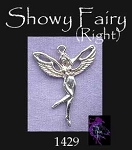 Sterling Silver Fairy Pendant, Slyph Fairy Jewelry