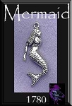 Sterling Silver Mermaid Charms