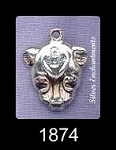 Sterling Silver Sekhmet Bast, Egyptian Cat Goddess Jewelry