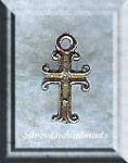 Sterling Silver Small Cross Charm, Christian Cross Jewelry