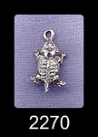 Sterling Silver Horned Toad Charm